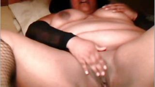 Bolivian Bbw Performs Together With Her Vagina On Webcam