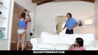 Daughterswap – Bootylicious Gamer Doll Smashed Through Elderly Daddy